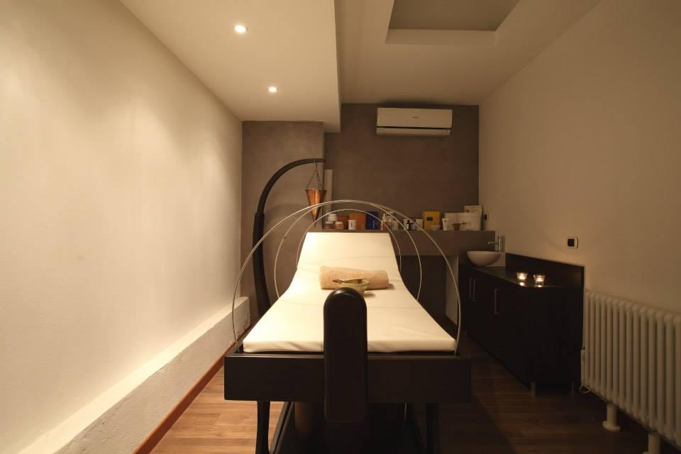 Roberto Carboni_Parrucchiere in centro a Milano per donna e per uomo_foto della sala dedicata ai massaggi e trattamenti beauty